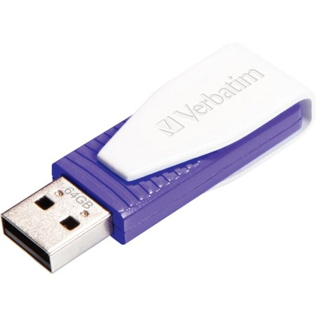 Verbatim 64GB Store 'n' Go Swivel USB Drive,