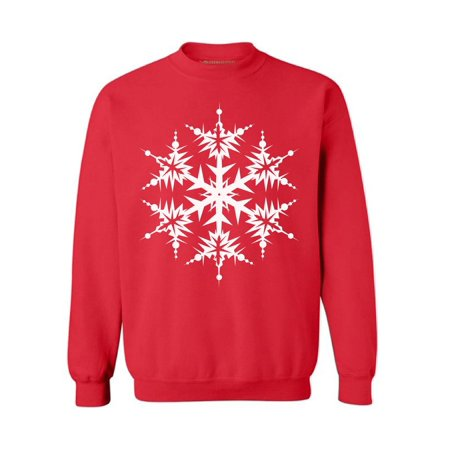 Awkward Styles Snowflake Sweatshirt White Christmas Ugly Sweater Tacky Holiday Gift Funny Ugly Christmas Sweater Funny Christmas Gifts Snowflake Christmas Jumper Matching With Christmas Pajamas