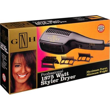 Gh2275 Professional 1875 Watt Styler Dryer withWalmartb Attachments, Professional styler dryer with maximum power and minimum weight By Gold N