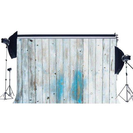 ABPHOTO Polyester 7x5ft Wood Backdrop Shabby Stripes Wood Plank Graffiti Photography Background for Kids Adults Happy Birthday Party Decoration Wallpaper Photo Studio Props