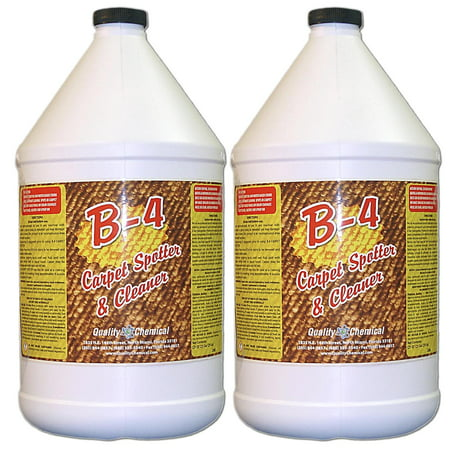B-4 Commercial Carpet Spotter, Cleaner and Stain Remover - 2 gallon