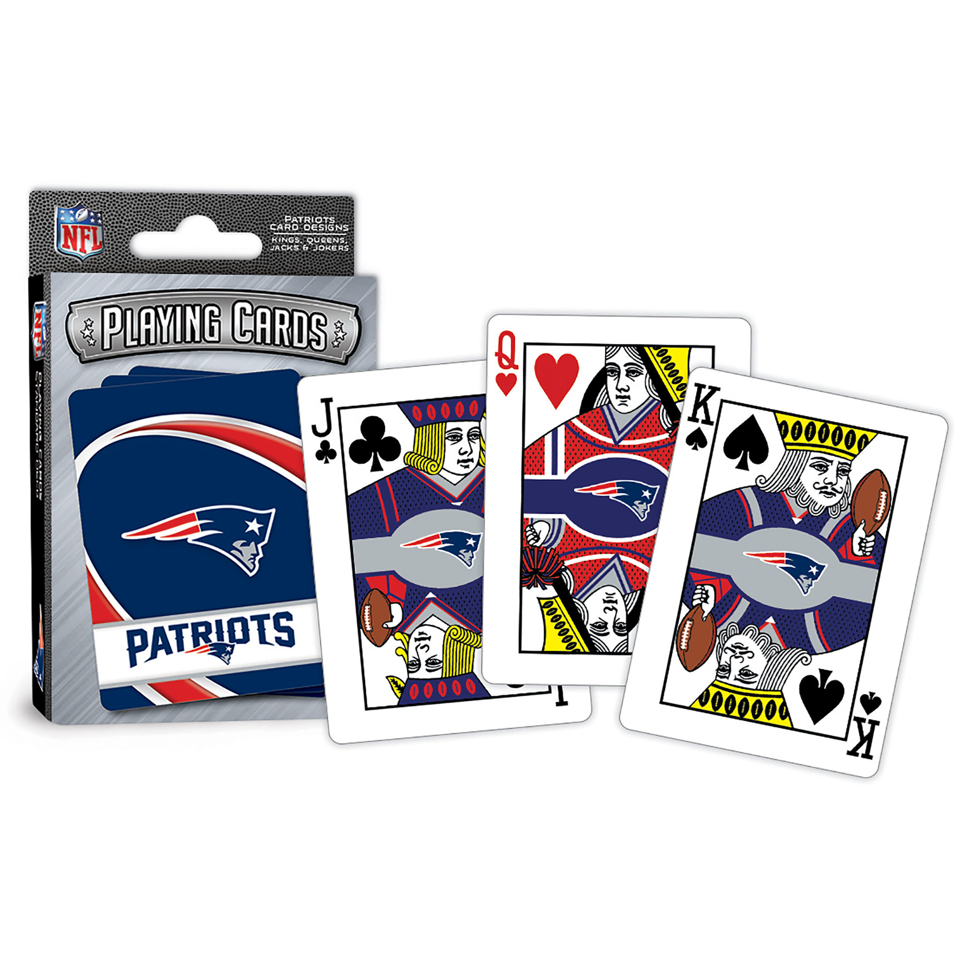 MasterPieces New England Patriots Playing Cards