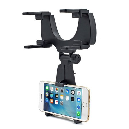 - EEEKit Car Mount / Car Rearview Mirror Mount Truck Auto Bracket Holder Cradle for iPhone X 8 7 6 6s Plus Samsung Galaxy Note 8 S8 Plus GPS PDA MP3 MP4