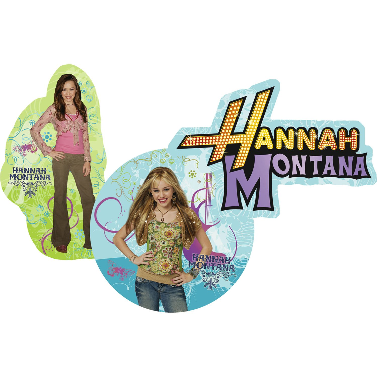 Hannah Montana Wall Decorations (3pc)