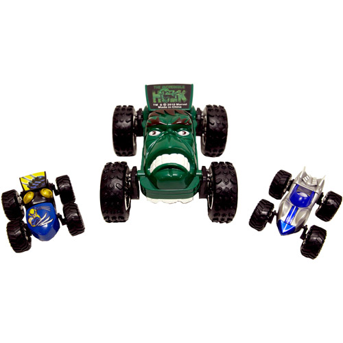 Regenerators Hulk, Silver Surfer and Wolverine Vehicles, Set of 3