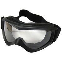 Coleman ATV Goggles with Adjustable Strap, Black