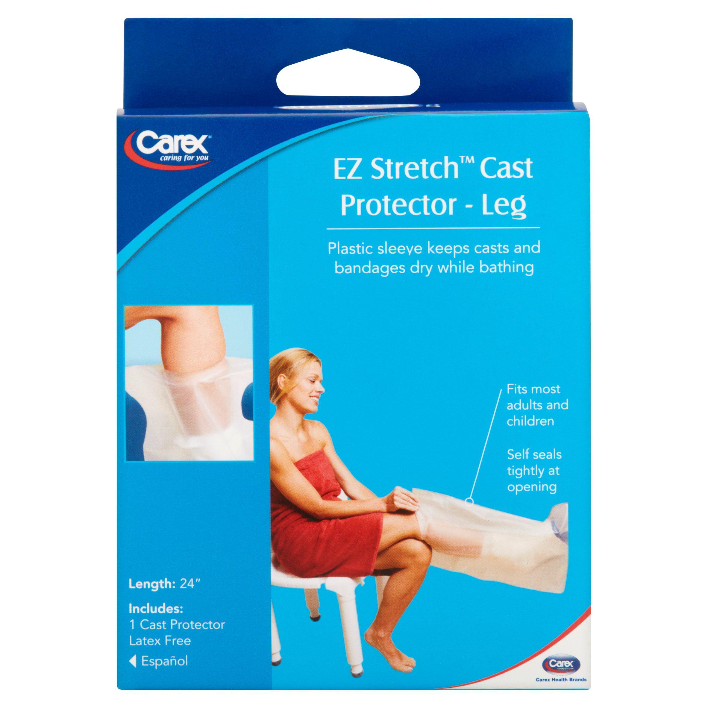 Carex Ez Stretch Leg Cast Protector Walmartcom