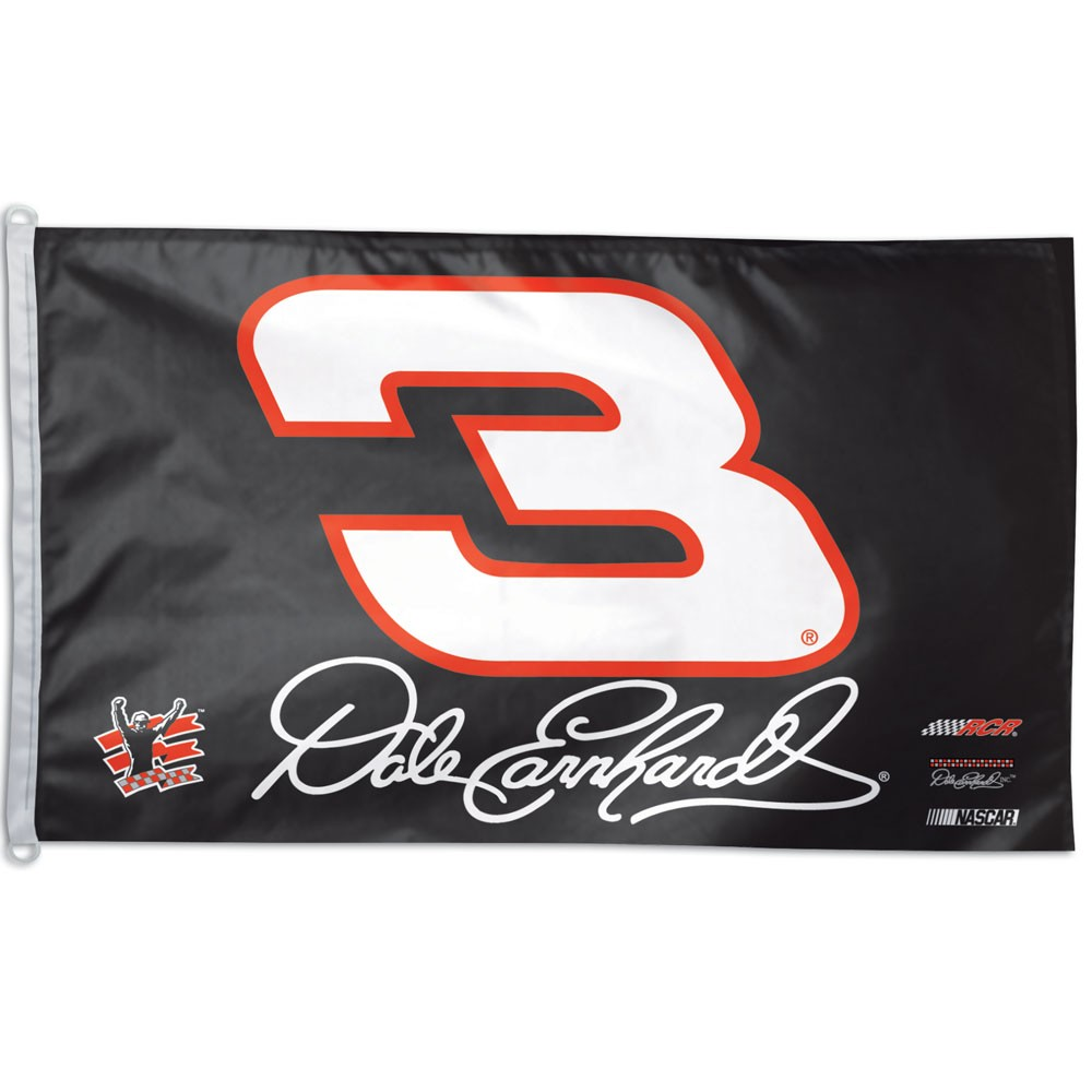 Dale Earnhardt Sr. Official NASCAR 3ftx5ft Banner Flag by Wincraft