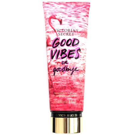Victoria's Secret Fragrance Body Lotion Cream Good Vibes or Goodbye 8 fl oz / 236 ml (Victoria Secret Creams)