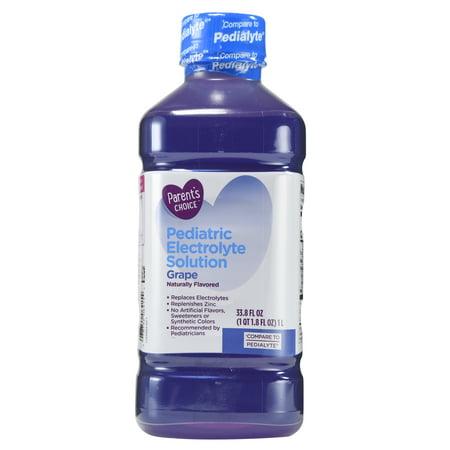 Parents Choice Grape Pediatric Electrolyte Drink  1 L