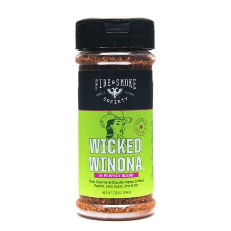 Fire&SmokeSociety Wicked Winona for poultry, ribs, pork chops and skirt steak, 7 oz (Pork Chops Re)