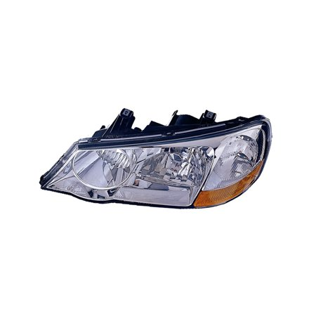 Replacement Driver And Passenger Side Headlight For 02-03 Acura TL