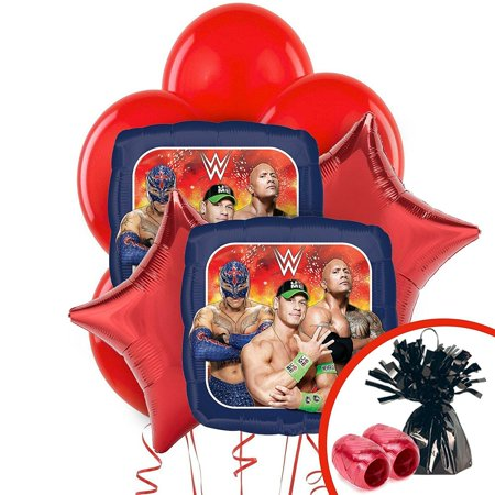 WWE Never Give Up Balloon Bouquet, By BirthdayExpress