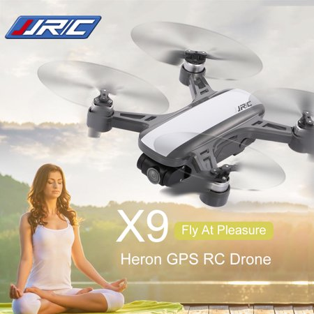 JJRC X9 Heron Brushless GPS RC Drone 2-axis Stabilized Camera 2K 5G Wifi FPV Optical Flow Positioning Quadcopter Follow Me Altitude Hold
