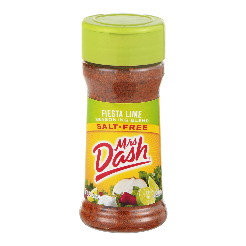 Mrs. Dash Salt-Free Seasoning Blend Fiesta Lime, 2.4 OZ