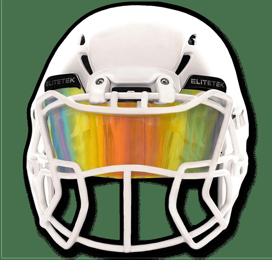 Fits Youth /& Adult Helmets EliteTek Color Football /& Lacrosse Eye-Shield Facemask Visor
