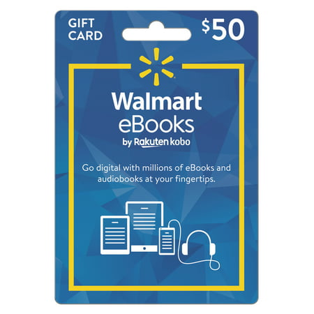 Walmart eBooks eGift Card $50 (email delivery)