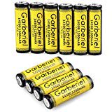 WishDeal 10 PC 14500 Battery 1200 mAh Lithium Rechargeable AA Battery For LED Flashlight