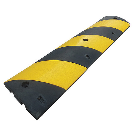 Value Brand Speed Bump, Black/Yellow 29NH40