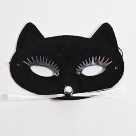 Cat Mask For Halloween (Cat Face Party Adult Mask)