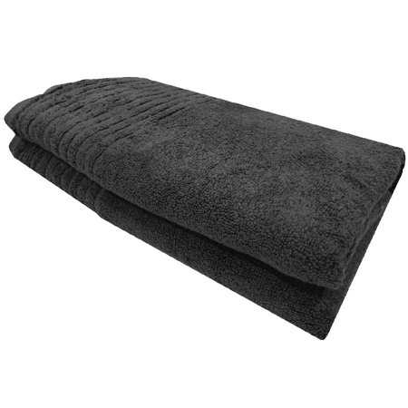 Homvare® Bath Towels Super Soft Cotton Machine Washable Luxury Bath Sheet 600 GSM - Grey