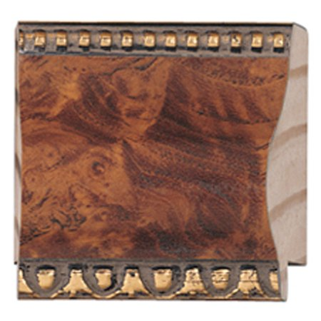 Picture Frame Moulding (Wood) - Traditional Walnut Finish - 2.125 ...