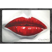 Forest Creations Magnet Pucker Up Framed Graphic Art