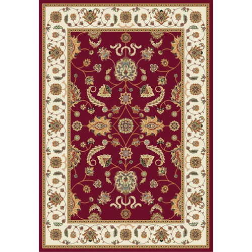 Luxury Home Istanbul Red/Beige Area Rug