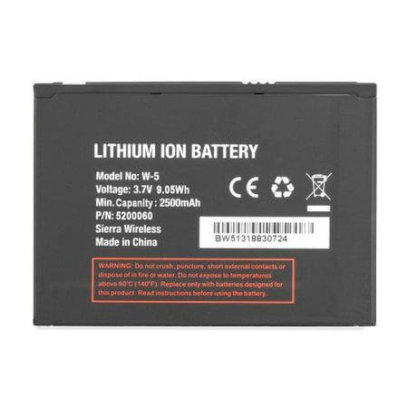 Replacement Battery For Sierra Wireless Netgear Unite 770S Air Card Hot Spot W 5 W5 5200060 2500Mah   Non Original