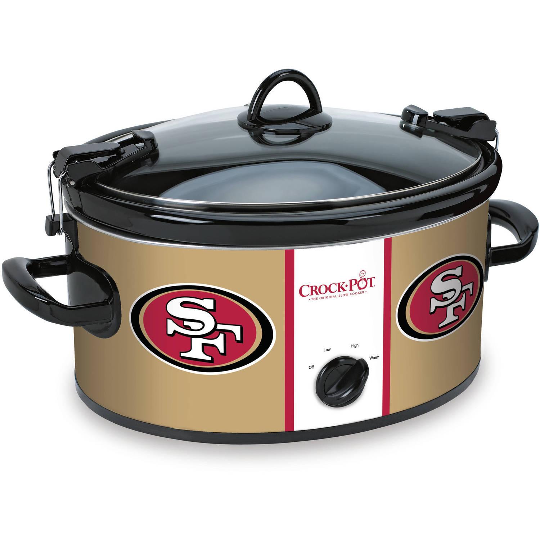 Crock-Pot NFL 6-Quart Slow Cooker, San Francisco 49ers