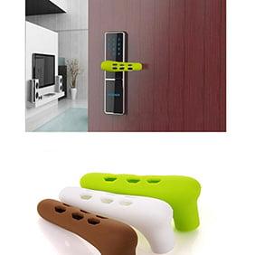 Micelec Home Door Handle Knob Anti-collision Silicone Doorknob Cover Guard Protector
