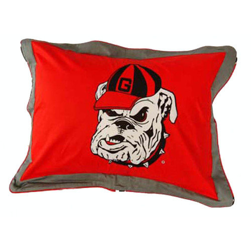 College Covers NCAA Georgia Pillow Sham