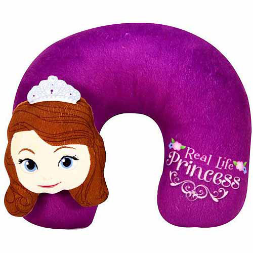 Disney Sofia the First 3D Plush Neck Pillow