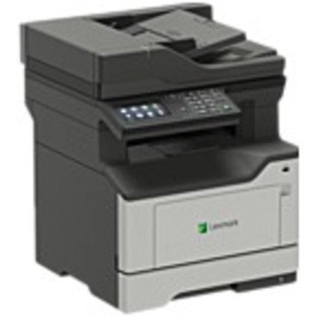 Lexmark MX420 MX421ade Laser Multifunction Printer - Monochrome - Plain Paper Print - Desktop - Copier/Fax/Printer/Scanner - 42 ppm Mono Print - 1200 x 1200 dpi Print - Automatic (Best Wifi Laser Printer Scanner Copier)