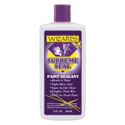 Wizard Products 11500 Supreme Seal Durable Paint Sealant, 12 Oz Bottle, Tightly Bonds To All Paints And Clears