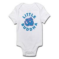 b96394b6f1 Product Image CafePress - Little Buddha Yoga Symbol Baby Rompers Blue - Baby  Light Bodysuit