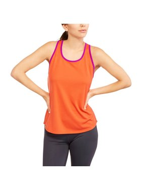 697bee638a632 Product Image Women s Mesh Tank with Contrast Trim