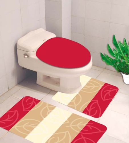 Surprising Bathroom Mats Set 3 Piece Memory Foam Extra Soft Shower Bath Rugs Mat 30X19 Contour Mat 19X19 Toilet Lid Cover 19X19 Washable Non Slip Mat Gmtry Best Dining Table And Chair Ideas Images Gmtryco