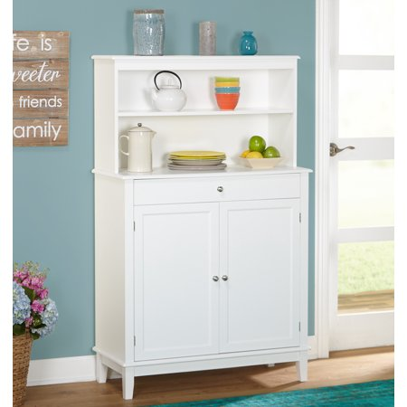 Farmhouse Buffet and Hutch, -