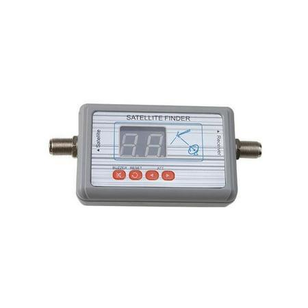 Dual Satellite Meter - WS-6903 Digital Satellite Signal Finder Meter LCD Displaying