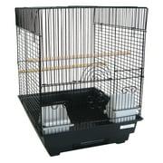 YML 3/8 in. Bar Spacing Flat Top Bird Cage