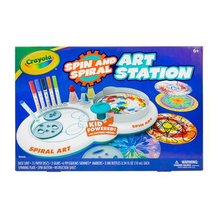 Diy Childrens Halloween Crafts (Crayola Spin & Spiral Art Station, DIY Gift for)