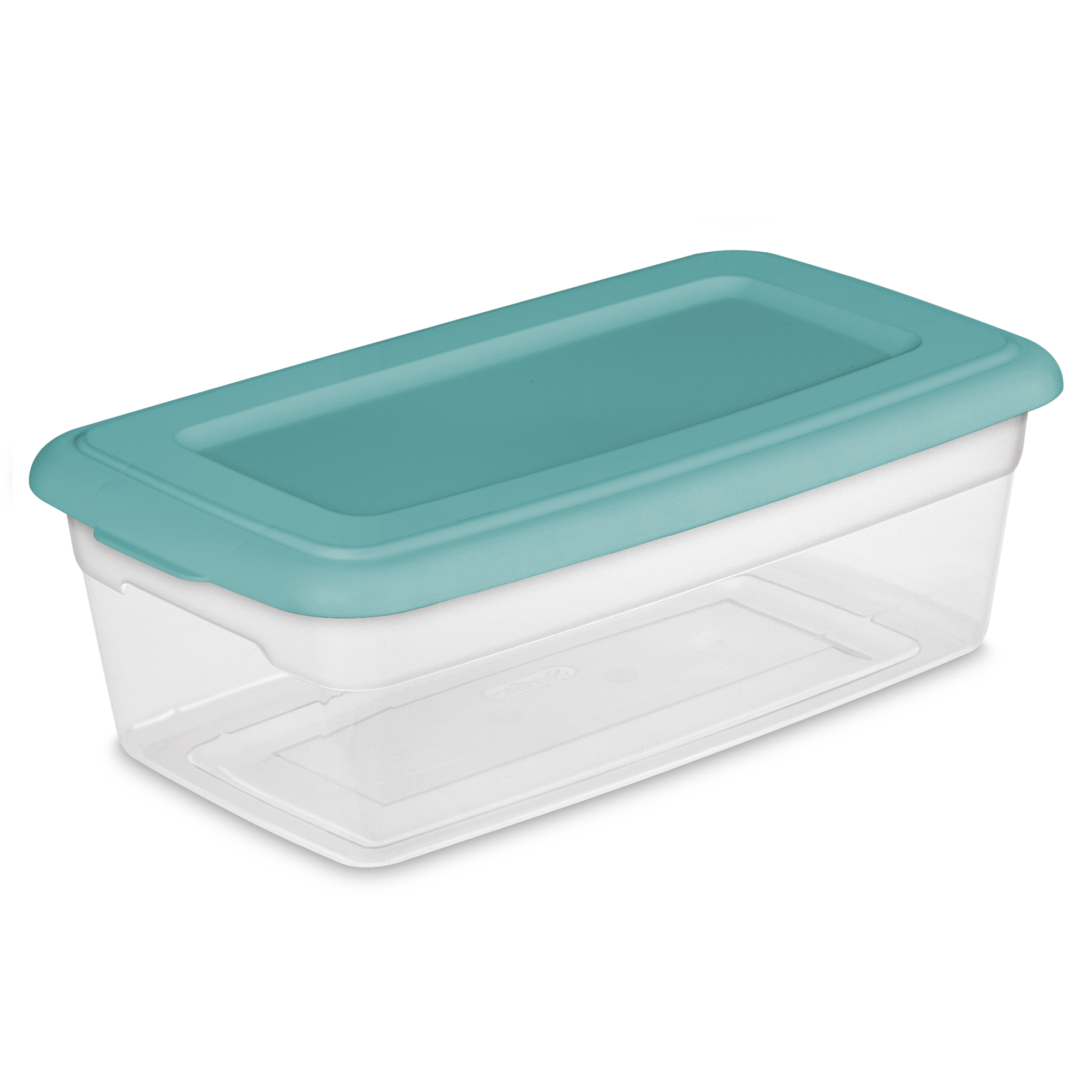 Sterilite 6 Quart Storage Box Peacock Plume Case of 36 Walmartcom