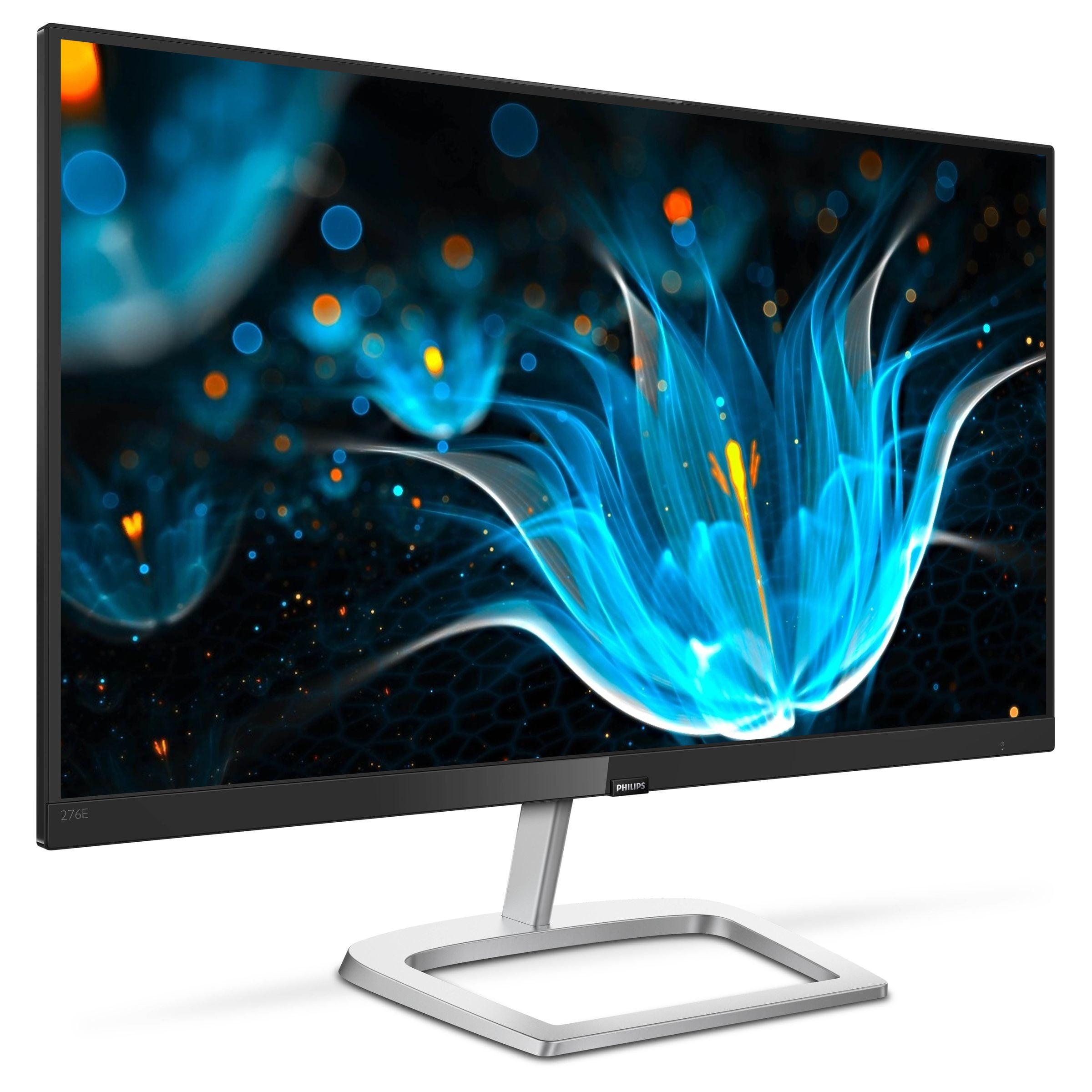 "Philips Monitor 27"" IPS Panel Full HD 1920x1080 75Hz FreeSync Ultra Wide-Color VGA DVI-D HDMI 276E9QDSB"