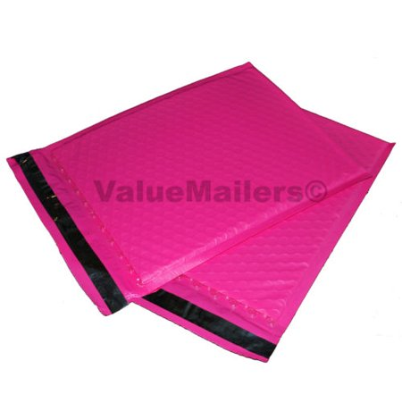 100 2 pink poly bubble mailers envelopes padded mailer shipping