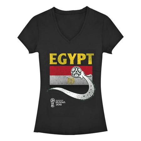 FIFA World Cup Russia 2018™ - FIFA World Cup Russia 2018™ Juniors  Egypt  Ball V-Neck T-Shirt - Walmart.com 8f40d288c