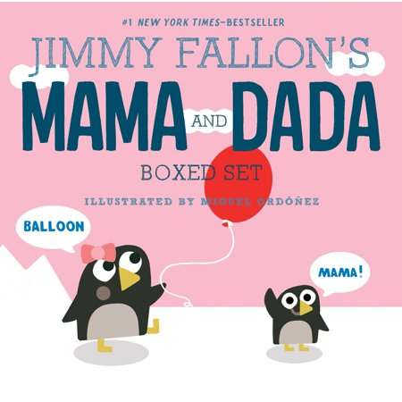 Jimmy Fallon's MAMA and DADA Boxed Set - Halloween Kids Jimmy Kimmel