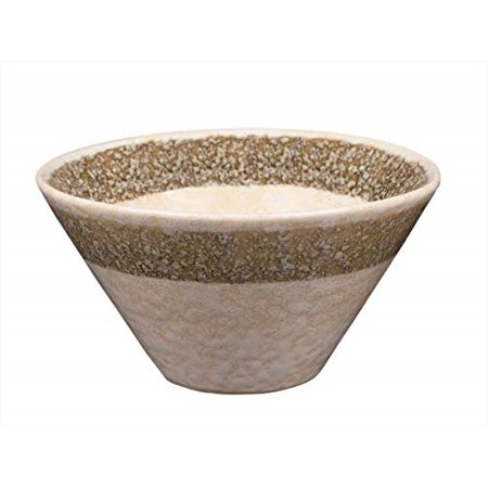 storeindya Diwali Gift Decoration Handmade Ceramic Dessert Salad Fruit Porcelain Pottery Serving Bowl Kitchen Dining Serve Ware Accessory (White)