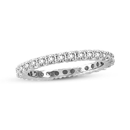 1/2 Ct Tdw Diamond Band (14K White Gold 1/2 ct TDW Diamond Eternity Band)
