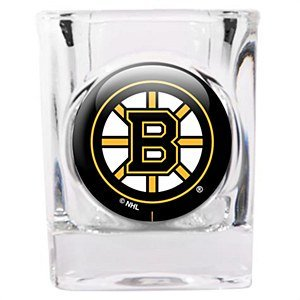 Great American 8900682160 2 oz. Boston Bruins Square Shot -